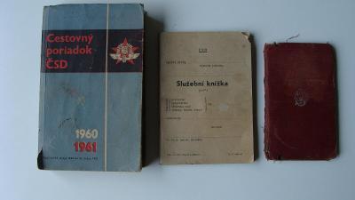 CESTOVNÝ PORIADOK - JÍZDNI ŘÁD 1960 - 1961 + 2 (JJ02)
