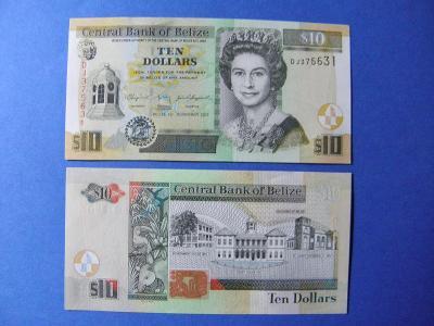 10 Dollars 1.11.2011 Belize - P68d - UNC - /I244/