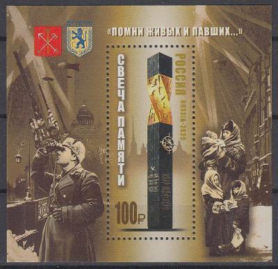 ** Rusko Mi.Bl.313 2.světová válka, blokáda Leningradu