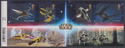 "** Velká Británie Mi.Bl.130 sci -fi filmová série ""Hvězdné války"""