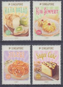 ** Singapur Mi.2599-02 Tradiční pečivo