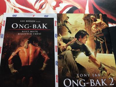 2x DVD v papíru – ONG-BAK 1+2