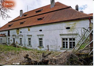 Žikov (Klatovy), zámek