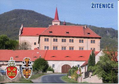 Žitenice (Litoměřice), zámek, erb
