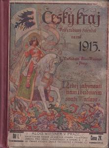 Kalendář 1915, Český kraj, A. Wiesner Praha