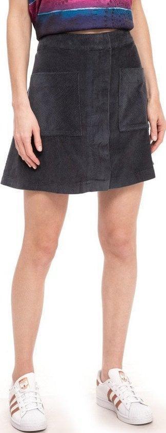 DESIGUAL fal_Brenda krásná manžestrová sukně//34 xs-s nová 1,-