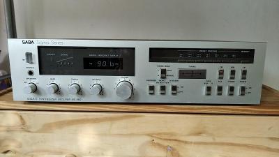 Vintage hifi stereo receiver zesilovač Saba Sigma Serie