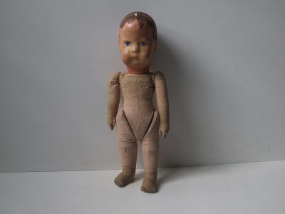 textilní panenka firmy Bing r.1930