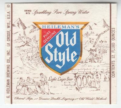 USA Heileman Brg - La Crosse 335 - jiný obsah