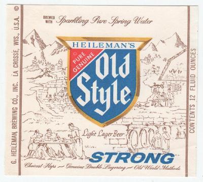 USA Heileman Brg - La Crosse 338