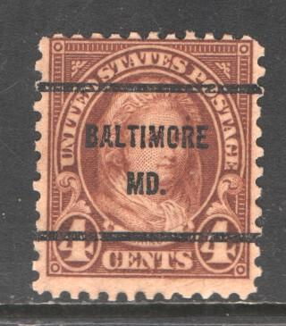 USA  1926-34  (Baltimore)