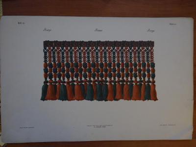 Frange....France.....Fringe.....vel. 32 x 50 cm-  vel.obrázku 15x29 cm