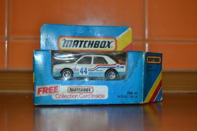 Matchbox Skoda 130LR, made in Macao, 1986 - dokonaly stav
