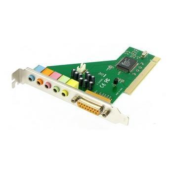 NOVÁ čtyřkanálová PCI zvuková karta WIN 7 8 10