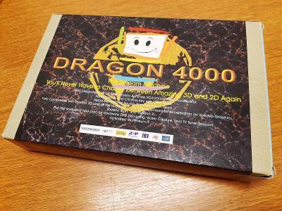 RETRO HW -  Gainward Dragon 4000 orig. BOX (3Dfx Voodoo Banshee, AGP)