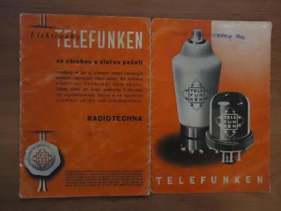 Elektronky  Telefunken.....1940