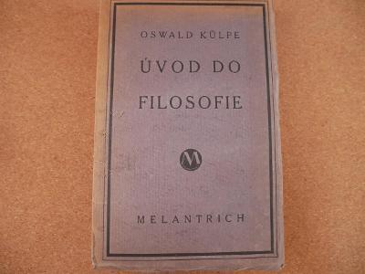 Úvod do filosofie - Külpe Oswald