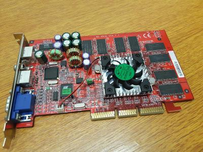 RETRO HW - Grafická karta MSI GeForce 2 Ti (Titanium) VX (G2Ti Pro-VT)