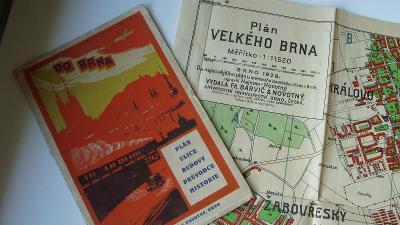 PLÁN MĚSTA BRNA ROK 1929 (JJ56)