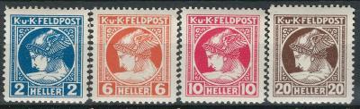 Rakousko / Österreich 1916 - FELDPOST/ZEITUNGS - ANK / Mi. 49 -  52 **