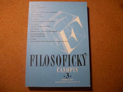 Filosofický časopis 3 - kolektiv autorů