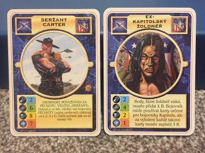 Doomtrooper CZ - Seržant Carter a Žoldnéř