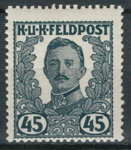 Rakousko / Österreich 1918 - K. u K. FELDPOST - ANK / Mi. IX *