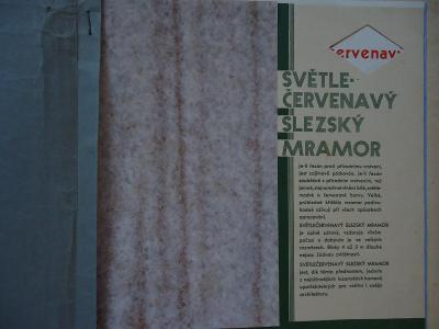 A.Förster-Cukmantl - Slezko - Kamenický průmysl - Slezský mramor
