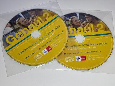 GENAU ! 2 - NĚMČINA PRO STŘEDNÍ ŠKOLY CD 3.4. / CD NEŠKRÁBLÉ