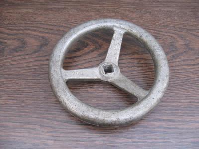 Rukojeť hliníková 200mm / čtyřhran 17mm pro kohout, ventil, hydrant
