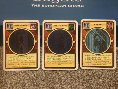 Doomtrooper CZ - Opevnění 3x různé město