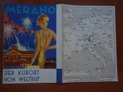 MERANO - dva prospekty...1936