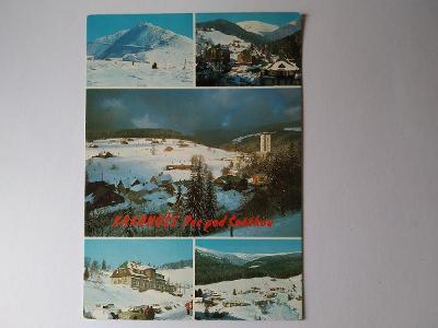 Pohlednice Krkonoše Pec pod Sněžkou