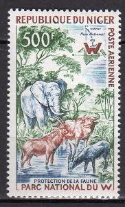 Niger 1960 ** fauna letecké komplet mi. 13 yt. PA 18 (25 eur)