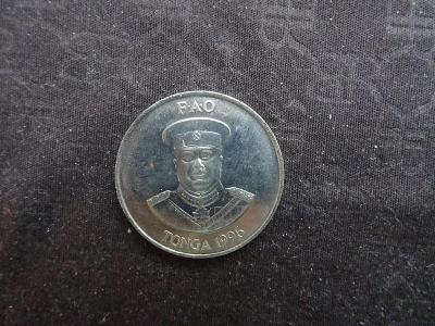 TONGA Mince TONGA 1996 20 Seniti , UNC