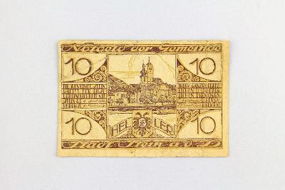 NĚMECKO - NOTGELD // 10 HELLER 1920  // neperf. /10