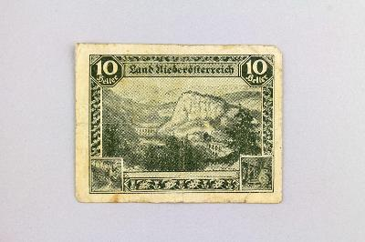 NĚMECKO - NOTGELD // 10 HELLER 1920  // neperf. /11