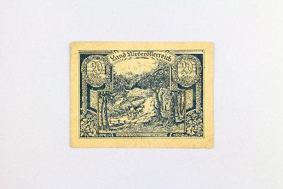 NĚMECKO - NOTGELD // 20 HELLER 1920  // neperf. /13