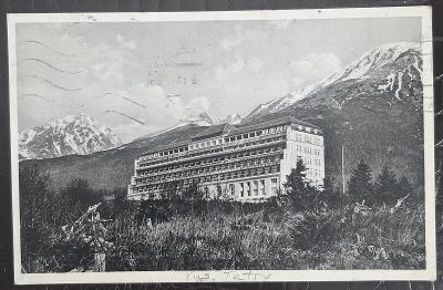 Slovensko Vysoké Tatry Nový Smokovec Palace Sanatorium Dr. Szontagh