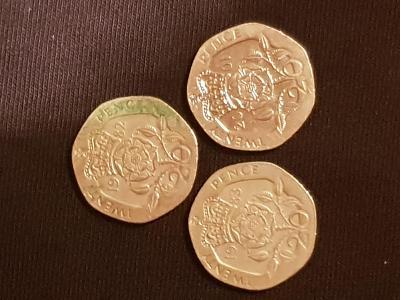 Twenty Pence Elizabeth ll