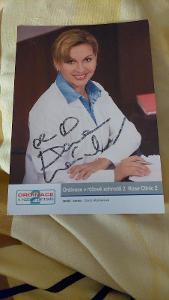 Autogram Dana Morávková