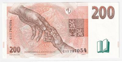 200 Kč 1998 série C 11 - nová (stav UNC)