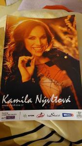 Autogram Kamila Nývltová 2