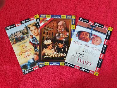 NOVÉ - DVD - Krásné 3 filmy  - Od 1 Koruny