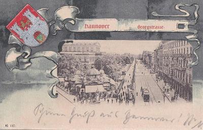NĚMECKO - HANNOVER - GRUSS - ERBOVKA - 11-DG26