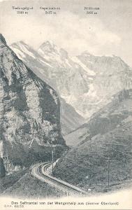Bernské Alpy, Sefinental, horská železnice, Švýcarsko