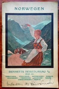 Historický turistický průvodce Norskem (Oslo, před r. 1925)