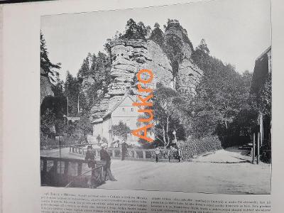 Hřensko a Starý Hrad (Slovensko) 1898