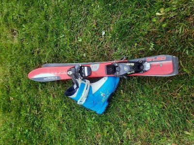 Dětské lyže + lyžáky
