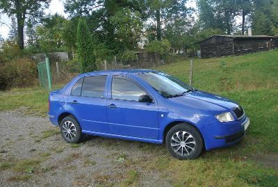 Škoda Fabia sedan 1.4 MPi 50kW, STK do 4/2023